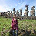 Ahu Tongariki, Los 15 moais, Rapa Nui