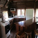 Kitchen (big cabin)