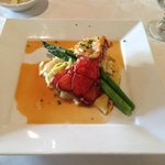 2 Lobster Tails with Asparagus 35.00