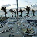 Dinner view!!