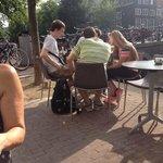 kijke op brug herenstraat/herengracht