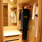 Walk-in wardrobe (room #621)