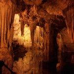 Percorso interno alla grotta