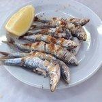 Roasted Sardines (Fish Kebab)