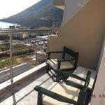 balcon denotre chambre vue sur mer