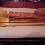 millefeuille with dulce de leche