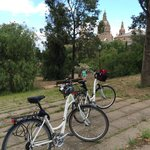 On our own at Montjuic - e-Bike Trekkers