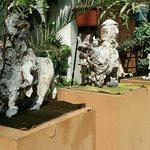 Esculturas del patio
