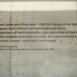 inscribed upon the krematorium
