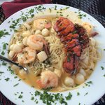 Lobster Scampi (outdoors)