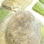 El huevo de piedra se utilizaba como nevera para conservar alimentos.