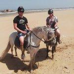 Horse trek with Mogador and Cobra