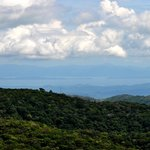 View of the Nicoya Peninsula from the lookout platform