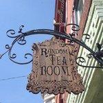 Random Tea Room Sign