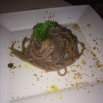 Spaghetti di farro con colatura di acciughe