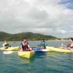 the awesome turtle tour with the watersports guys
