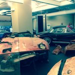 Corvettes pulled from sink hole!