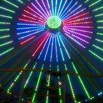 ferris wheel by hotel
