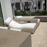 Chaises and Hot Tub on Private Terrace