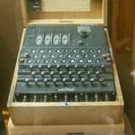 German Navy 4-rotor Enigma.