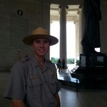 Our Ranger Jeffrey Cole. He was very informative.