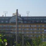 hotel set nær sporvognstop