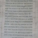 You know what this is...Declaration of Independence excerpt.