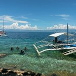 View from Cebu Dive Centre - paradise!