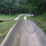 Fun times on the alpine slide at Lutsen!