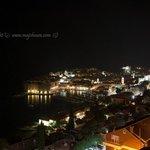 View of Dubrovnik Grad at night.