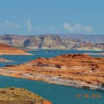 Lake Powell view from Glen Canyon park