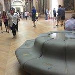 Poor Louvre.....maintenance please