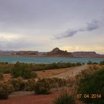 Lake Powell view from Glen Canyon