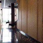 Couloir de la réception