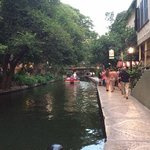 The Riverwalk - just outside of the Drury
