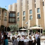 Inbal Jerusalem Hotel - Breakfast In The Atrium
