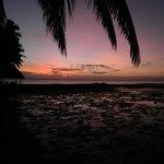Sunset on Toberua