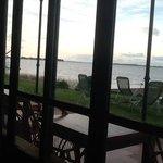 desde el comedor vista de la Laguna