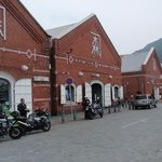 Historical Kanemori Red Brick Warehouses