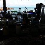 beachside tableside