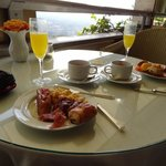 Continental breakfast in the imperial lounge