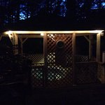 How perfect was it to sit and relax by the hot tub on the deck and look up at the stars!