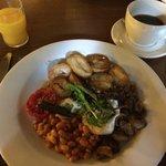 Vegetarian Hot Breakfast - excellent!!!