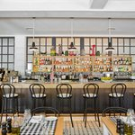 Sip on craft cocktails at the bar