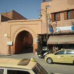 Bab Lasour - landmark gate for Palais Sebban