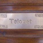 Nameplate on Door