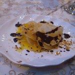 Orange Pastilla dessert