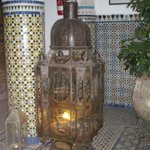 Sitting area lantern