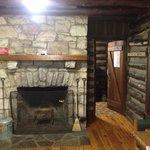 Fireplace & Kitchen entrance