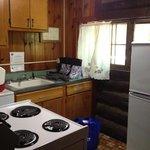 Standard Cabin #9 Kitchen
